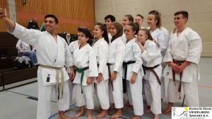Lehrgang in Wieblingen mit Momo am 25.03.2017